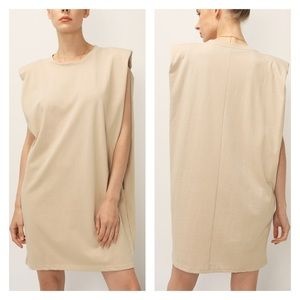 Storets Kinley Padded Shoulder Muscle Dress S/M